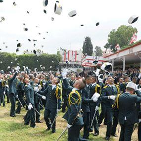 موعد إجراء الاختبار الخطي للمتطوعين بصفة تلميذ ضابط