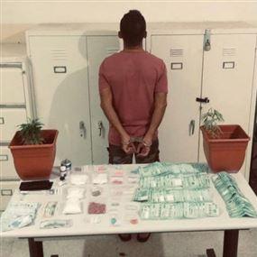يروّج المخدّرات في مطعمٍ يملكه في برج حمّود