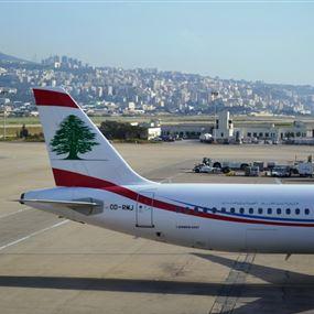 فضيحة جديدة في مطار بيروت: تدفق فيول من طائرة على الأرض!