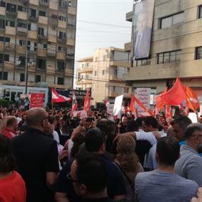 تجمع للمتضامنين مع باسيل في جبيل