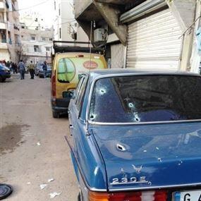 إشتباك مسلح بين القوة الأمنية ومطلوب في مخيم البداوي