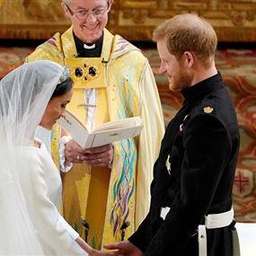 بالصور والفيديو: زفاف الأمير هاري وميغان ماركل