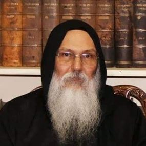 رئيس دير القديس مقاريوس.. جثة