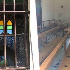 مَن يعتدي على كنائس شرق صيدا؟