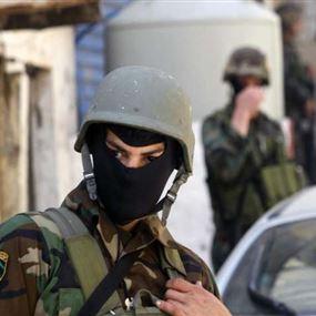 سوري يتجسس على مواقع للجيش اللبناني