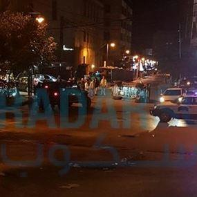 بالصور: انقلبت بِشارع المطاعم في أنطلياس