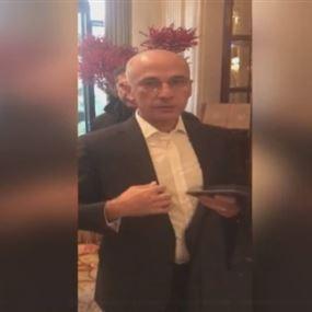 بالصورة: أول ظهور لمرافق الحريري منذ مغادرته الى الرياض