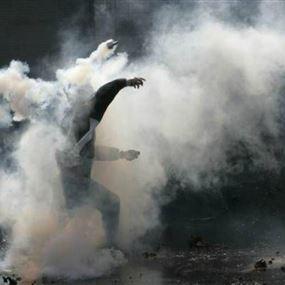 ألقى رمانة مسيلة للدموع باتجاه عناصر الجيش اللبناني!