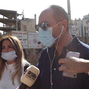 وقفة إحتجاجية أمام قصر العدل لتسريع التحقيق! (فيديو)