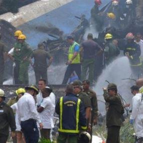 صور أولية.. تحطُّم طائرة على متنها أكثر من 100 راكب