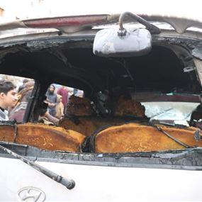 انفجار سيارة مفخخة في مدينة الباب بريف حلب (فيديو)