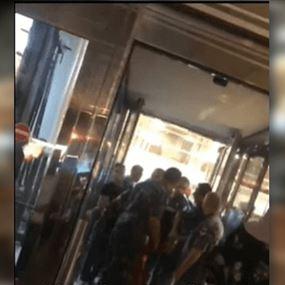 بالفيديو: اشكالات واعتقالات في مطار بيروت
