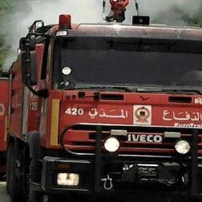 اعتداء على رئيس مركز للدفاع المدني أثناء إخماده حريقا