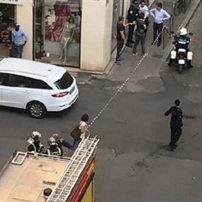 بالفيديو والصور: 8 جرحى بإنفجار في ليون الفرنسية