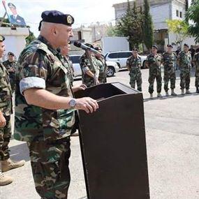 قائد الجيش للعسكريّين: أمن لبنان أمانة في أعناقكم