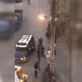 بالفيديو: اعتداء واطلاق نار.. تفاصيل اشكال حراجل