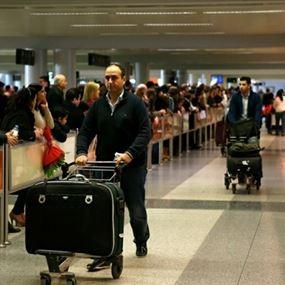 تعميم للمسافرين من مطار بيروت.. هذه الرسوم المتوجبة عليكم