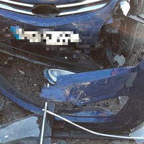 اربعة جرحى اثر حادث سير في ميروبا