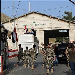 بدءًا من الإثنين.. إغلاق الحدود اللبنانية السورية