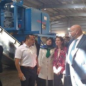 افتتاح معمل معالجة النفايات الصلبة في طرابلس