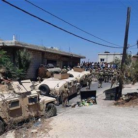 إصابة 10 عسكريين ووفاة شخص في وادي خالد