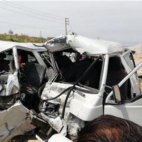 بالصورة: 3 جرحى في حادث مروع في العقيدية