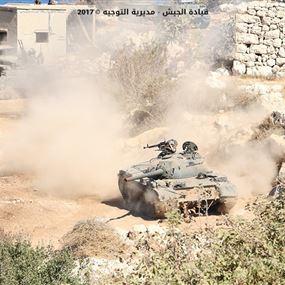 بالصور: الجيش يحاكي عملية ارهابية
