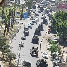 الجيش بدأ انتشاره في محيط مراكز الاقتراع في النبطية