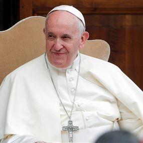 البابا فرنسيس: أفكاري مع الشعب اللبناني العزيز وخصوصًا الشباب