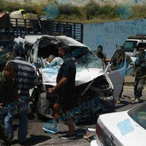 بالصور والفيديو.. حادث سير مروّع على اوتوستراد البترون