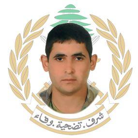 قيادة الجيش نعت الجندي الشهيد خالد محمود خليل