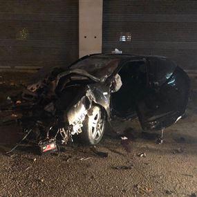 قتيل جرّاء حادث سير مروع