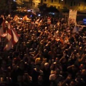 محتجون بدأوا بالتوافد إلى ساحة الشهداء
