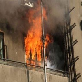 إندلع الحريق في المنزل بعكَّار والطفل بداخله