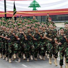 الجيش يعدّل تواريخ التجربة لمناسبة عيد الاستقلال