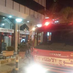 بالصور: فوج الإطفاء يسيطر على حريق اريسكو بالاس