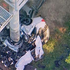 مقتل 4 طلاب لبنانيين بحادث سير مروّع في كاليفورنيا