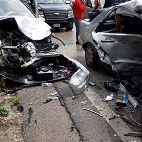 سقوط ضحايا على طرقات لبنان.. 80 حادثا خلال 5 أيام و10 قتلى!