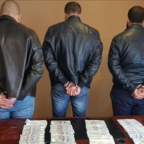 بالصورة: عصابة سرقة في قبضة شعبة المعلومات