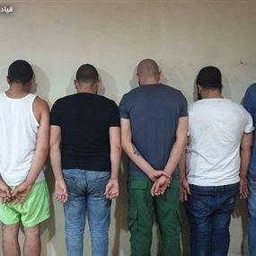 بالصور: شبكة ترويج مخدرات تعمل بين كسروان والمتن وبعبدا