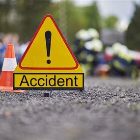 حادث بين ٦ سيارات على طريق ذوق مصبح