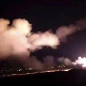 الدفاعات الجوية السورية تتصدى لهجوم صاروخي إسرائيلي