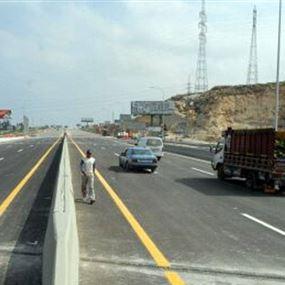 جرحى في حادث سير على جسر الزهراني