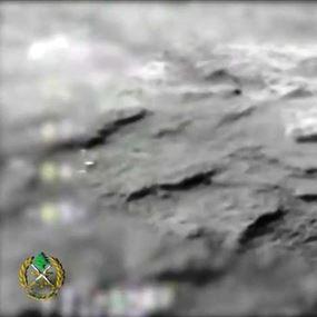 بالفيديو.. سلاح الجو في الجيش اللبناني يستهدف مواقع داعش