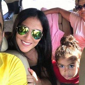 بالصور: فنان برفقة عائلته يتعرض لحادث سير في البقاع