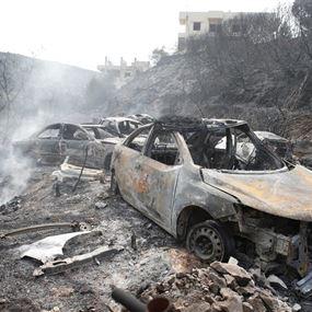 هكذا بدت المناطق المحترقة بعدسة رويترز.. (صور)