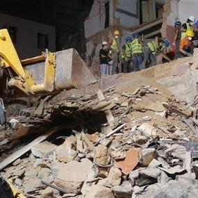 الدفاع المدني مستمر في عمليات البحث عن المفقودين في مار مخايل