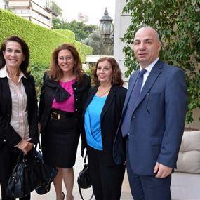 بالصور: لقاء خاص مع الإعلام حول مبادرة لبنان الحوار