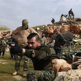 بالصور: خبراء روس يدرّبون عسكريين ودفاع وطني سوري