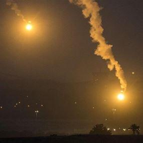 سقوط بالونين حراريين للعدو الإسرائيلي وانفجار احدهما في الشوف
